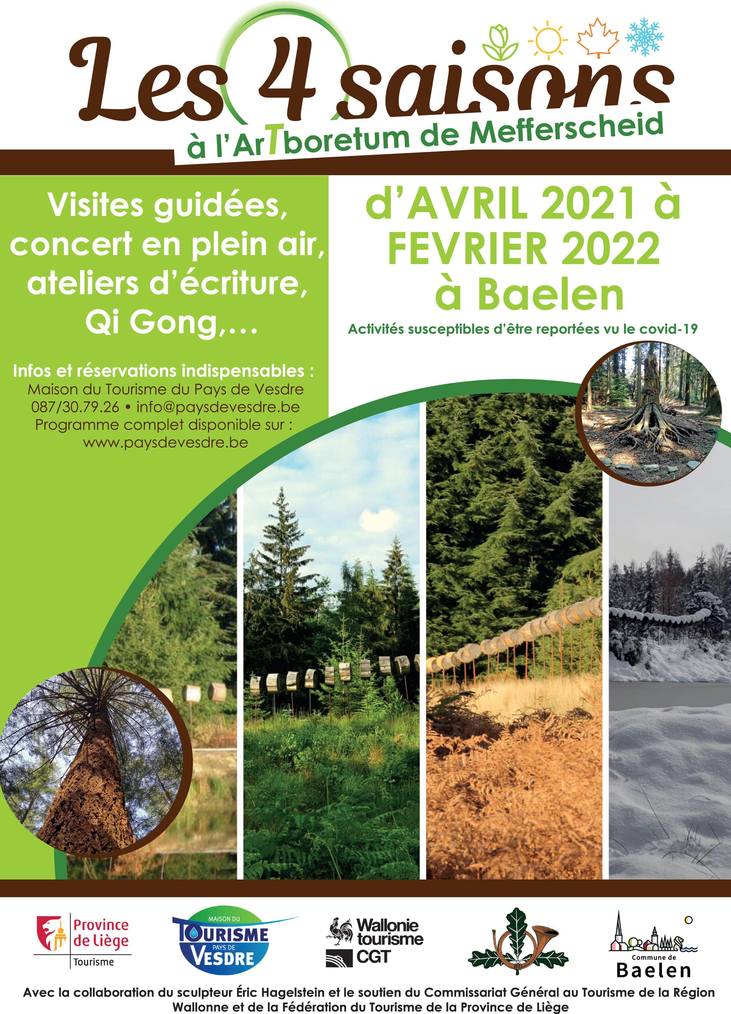 Ar(t)boretum de Mefferscheid : Mouvements énergétiques à partir des arbres