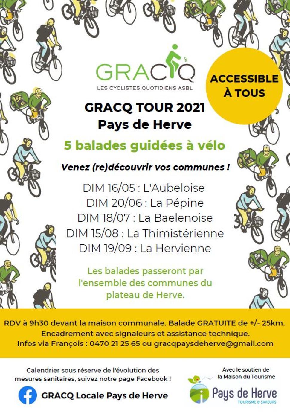 GRACQ TOUR 2021 ©GRACQ Pays de Herve 2021