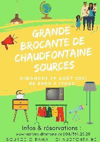 Grande brocante de Chaudfontaine Sources
