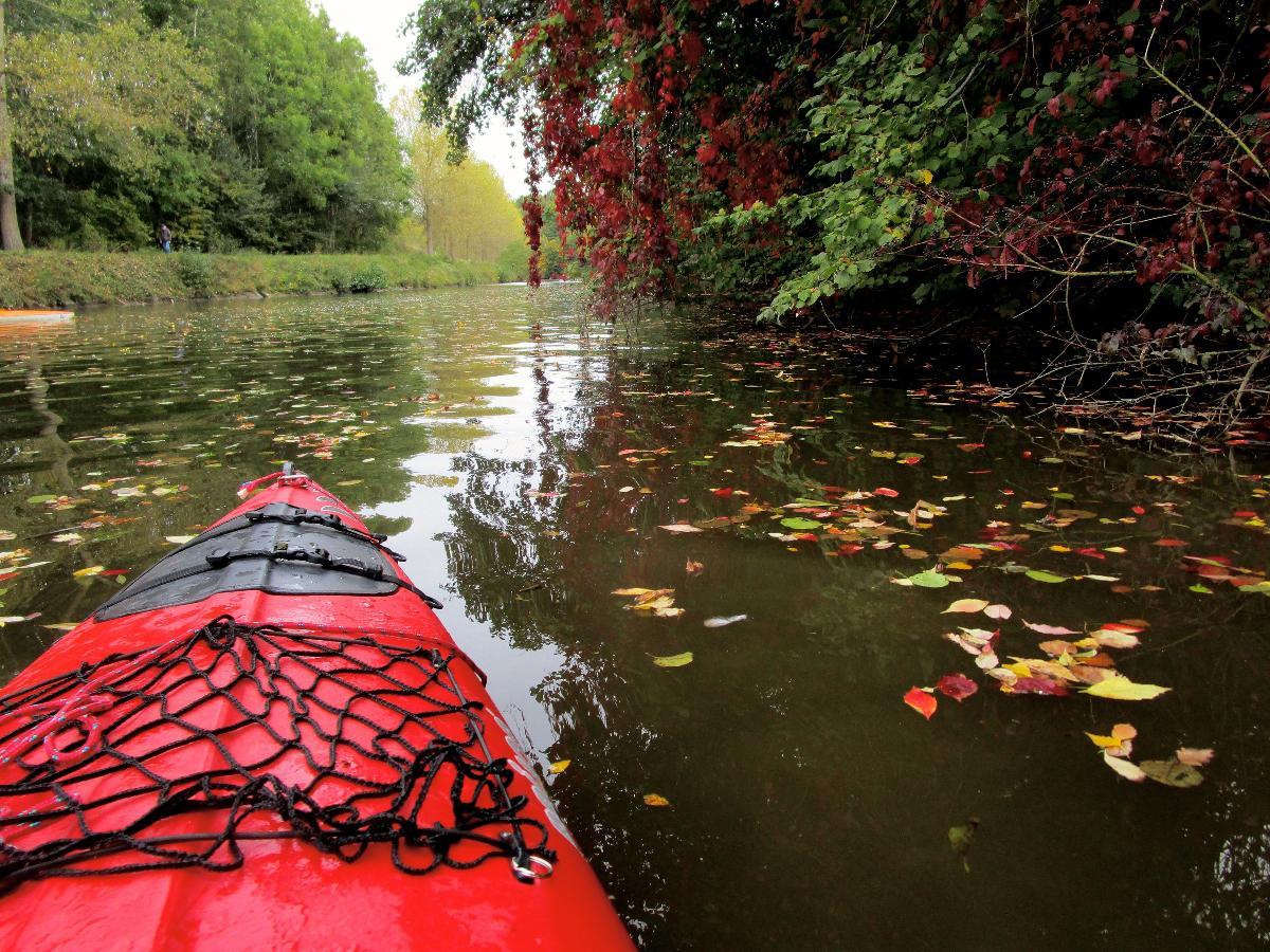 Balade en kayak à Lobbes