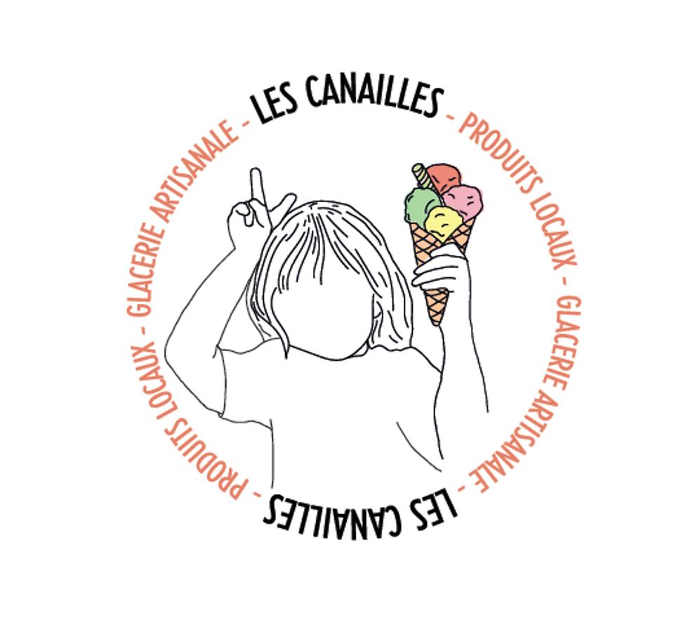 Logo ©Glacerie Les Canailles 06-2021