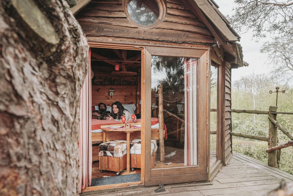 La Cabane des Amoureux - Terre Insolite