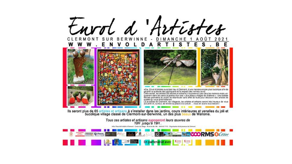 Envol d'Artistes recadré ©Jeunesse de Clermont 07-2021