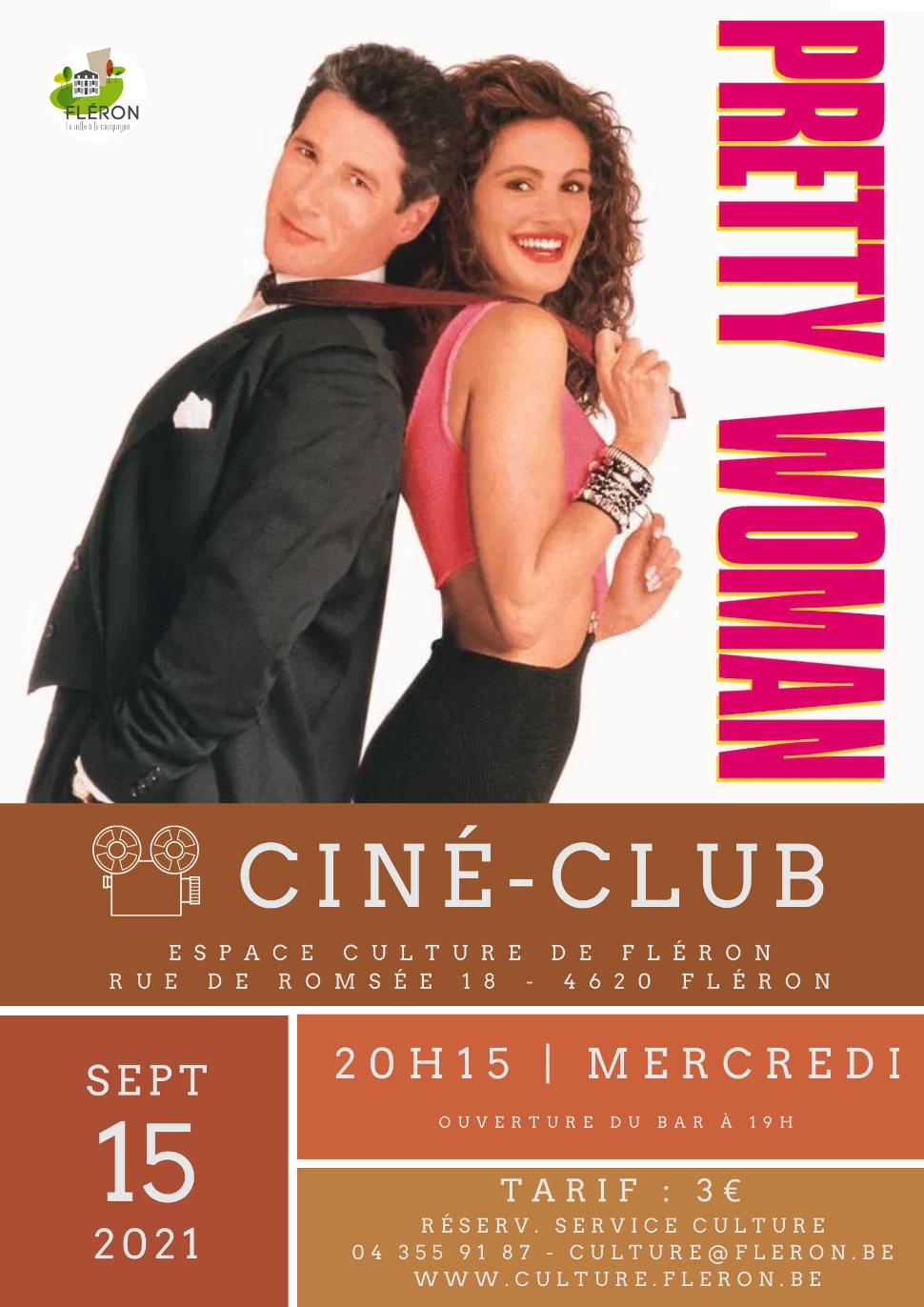 CINÉ-CLUB 210915 - Pretty Woman ©Service Culture de la Commune de Fléron 08-2021