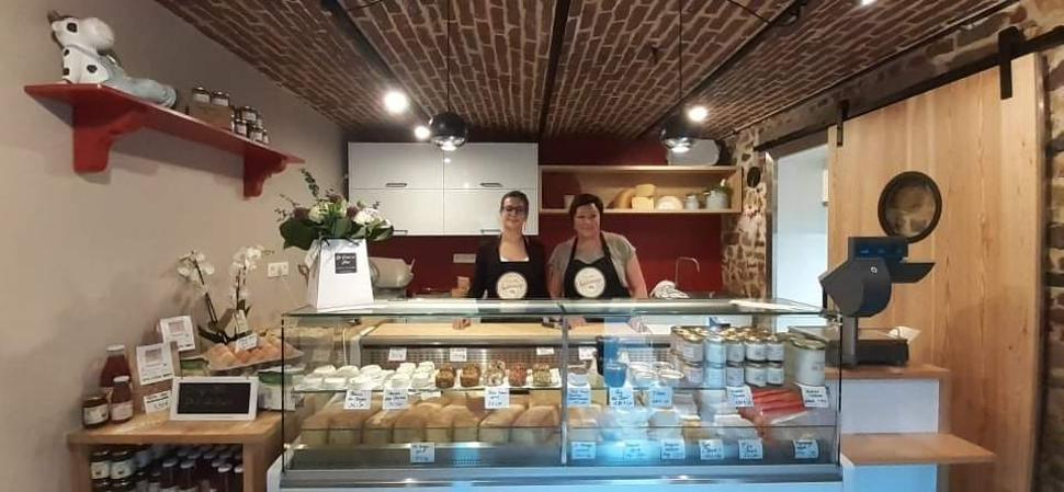 Fromagerie La Cour Charlemage-Boutique
