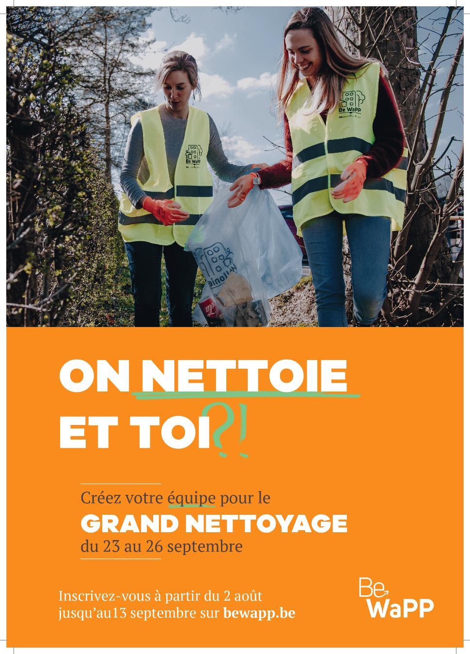 Grand Nettoyage 2 ©BeWaPP 09-2021