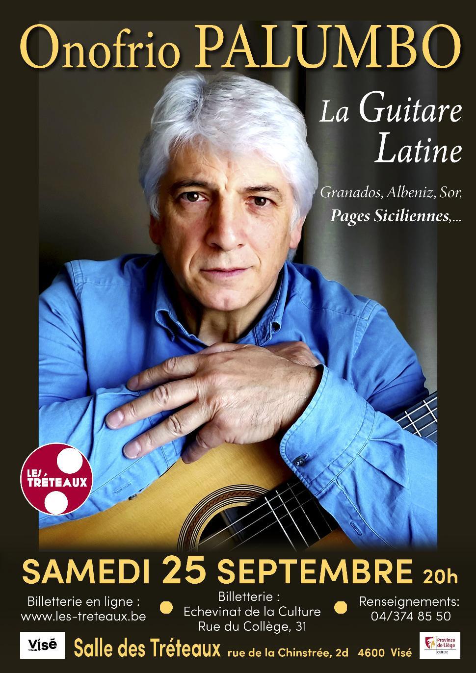 Récital de guitare Onofrio Palumbo ©Les Tréteaux 09-2021