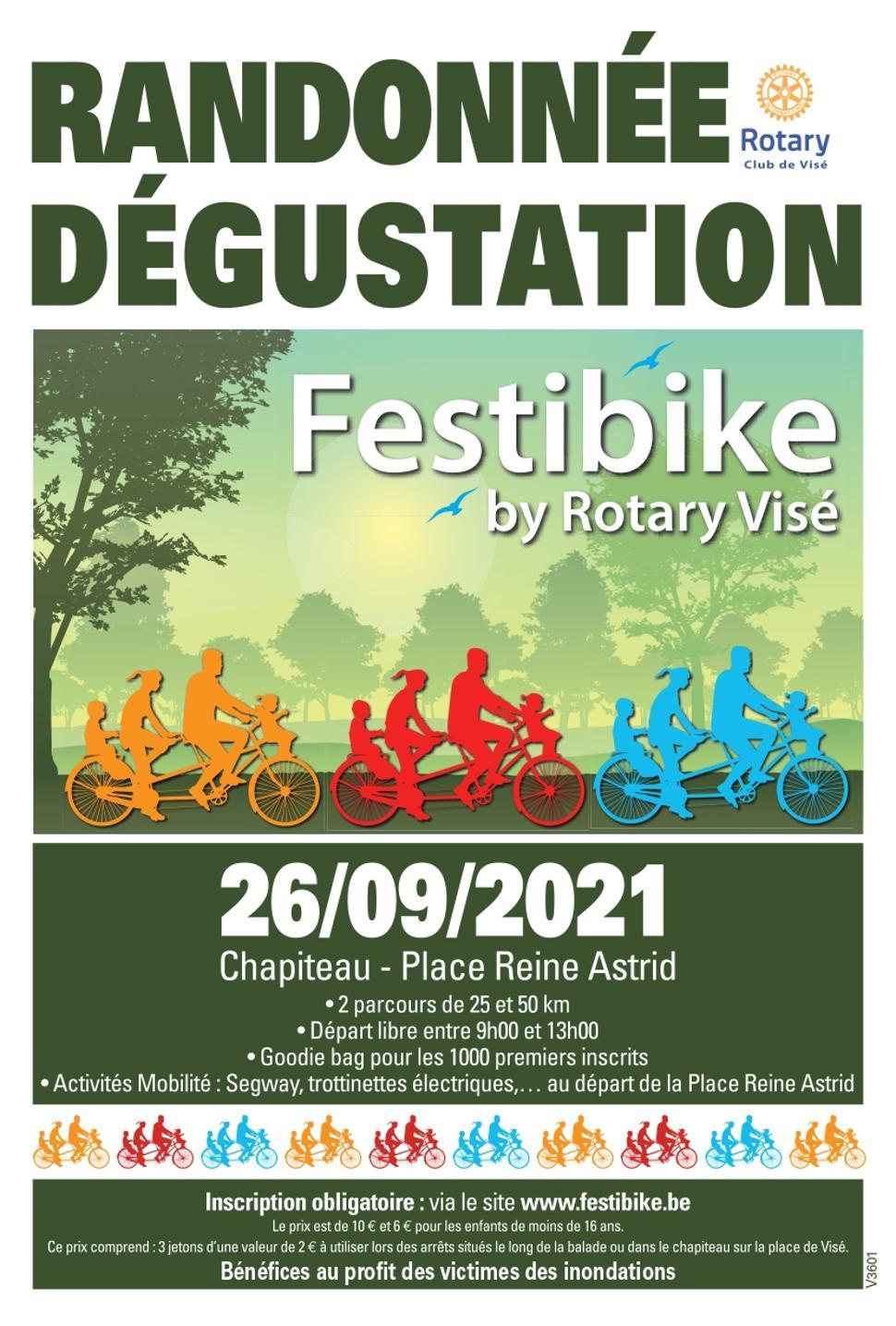 Festibike ©Rotary Club Visé