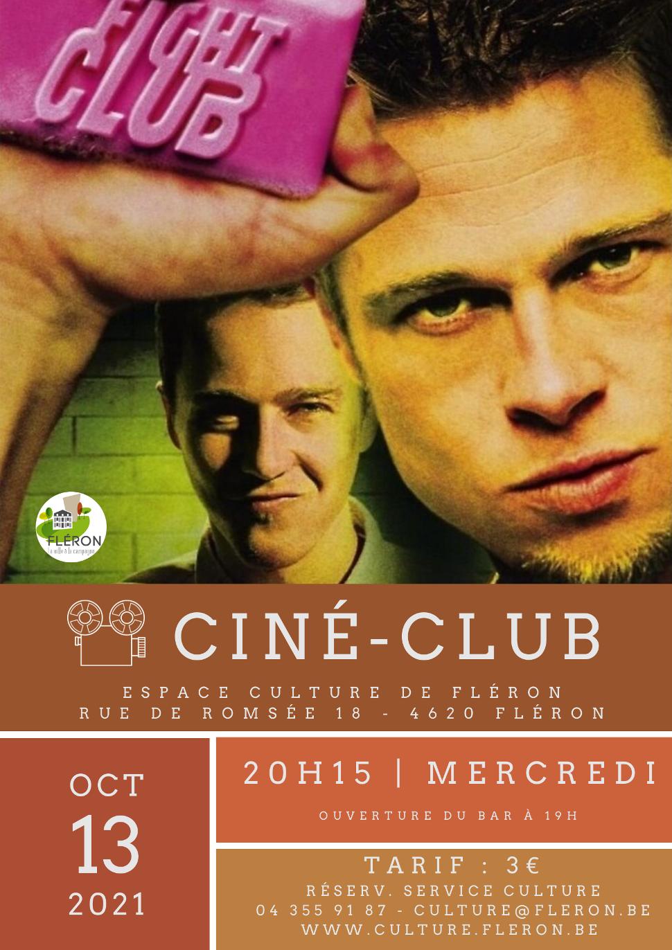 CINÉ-CLUB Fight Club