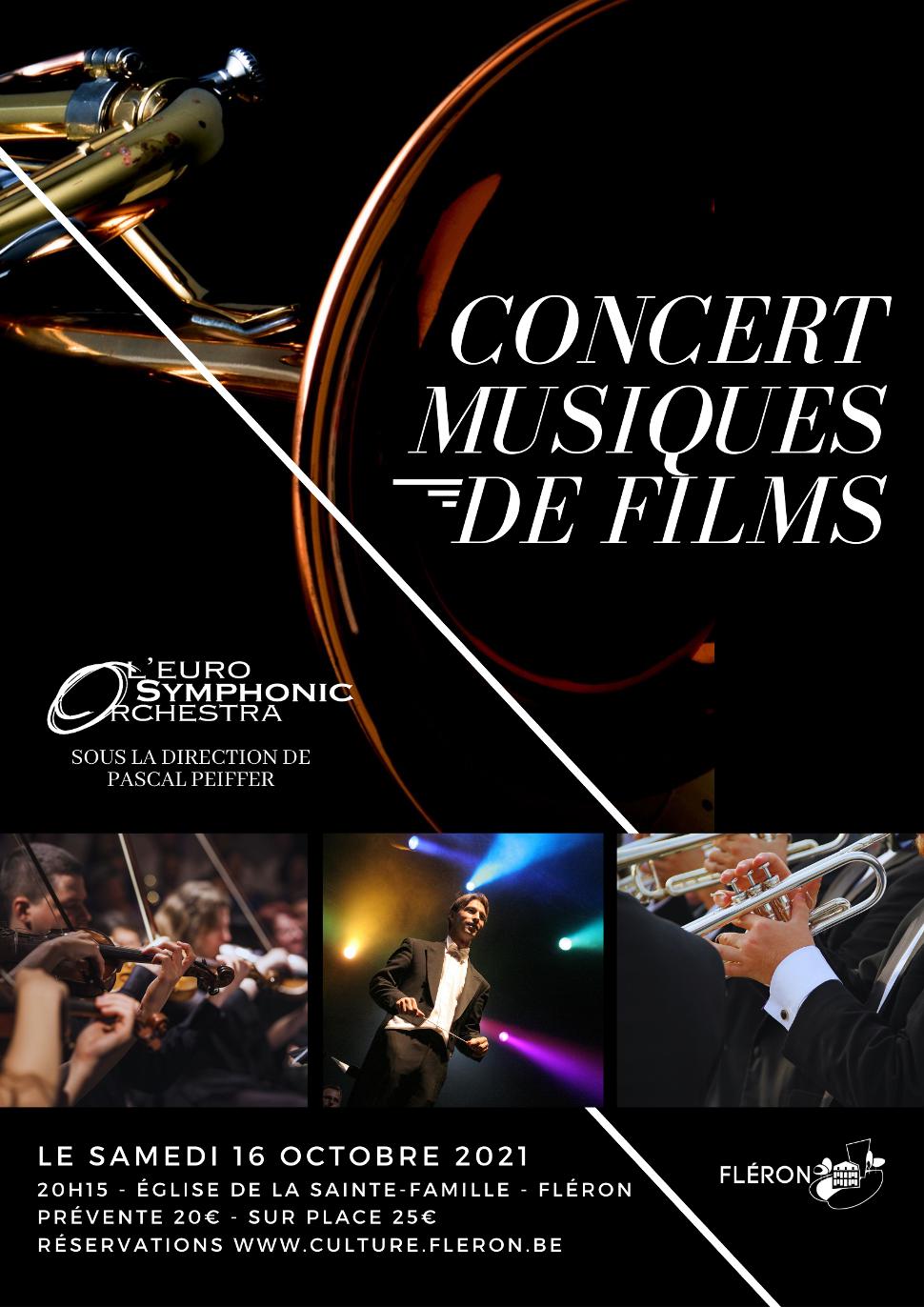 Concert Musiques de films