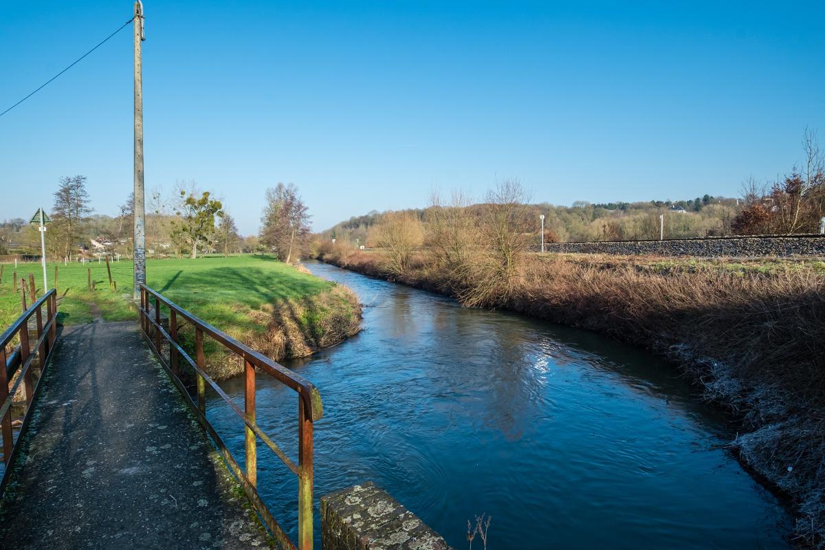 Le chemin de l'Eau d'Heure et le sentier de l'Eure – Marchienne-au-Pont