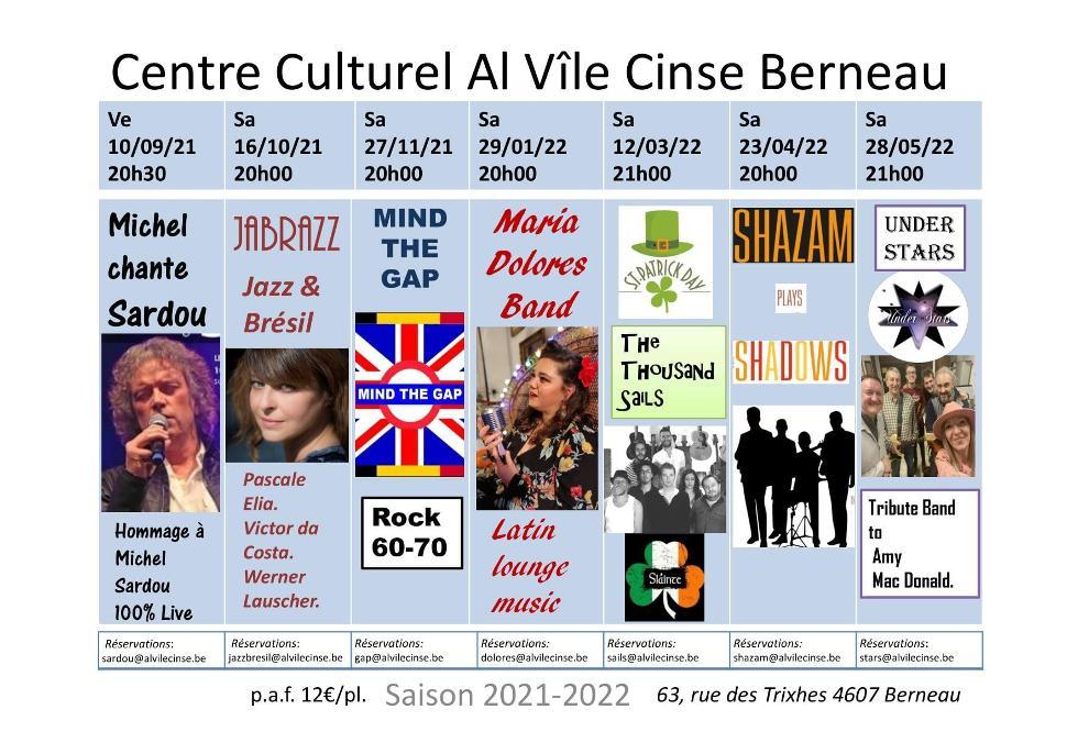 Concert Jabrazz - Jazz et Brésil ©Al Vîle Cinse 09-2021