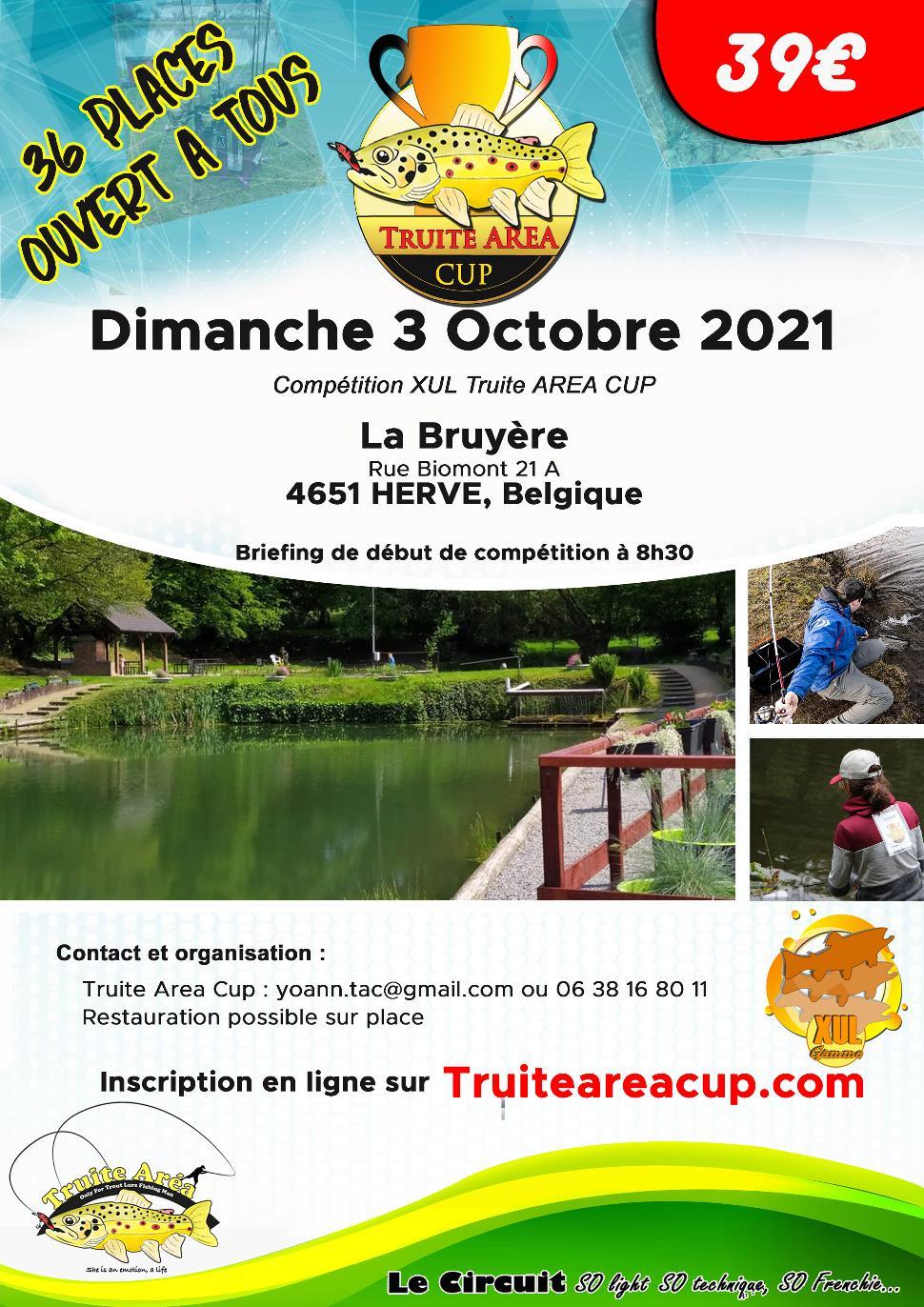 Concours de pêche de la truite aux leurres ©Truite Area Cup 09-2021
