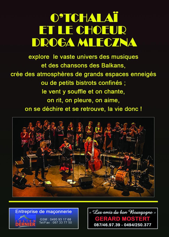 Concert O'Tchalaï et le choeur Droga Mleczna