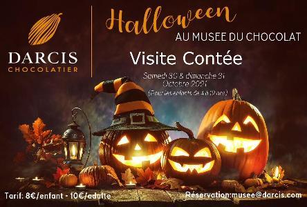 Halloween: Geschichtenerzählen im Schokoladenmuseum