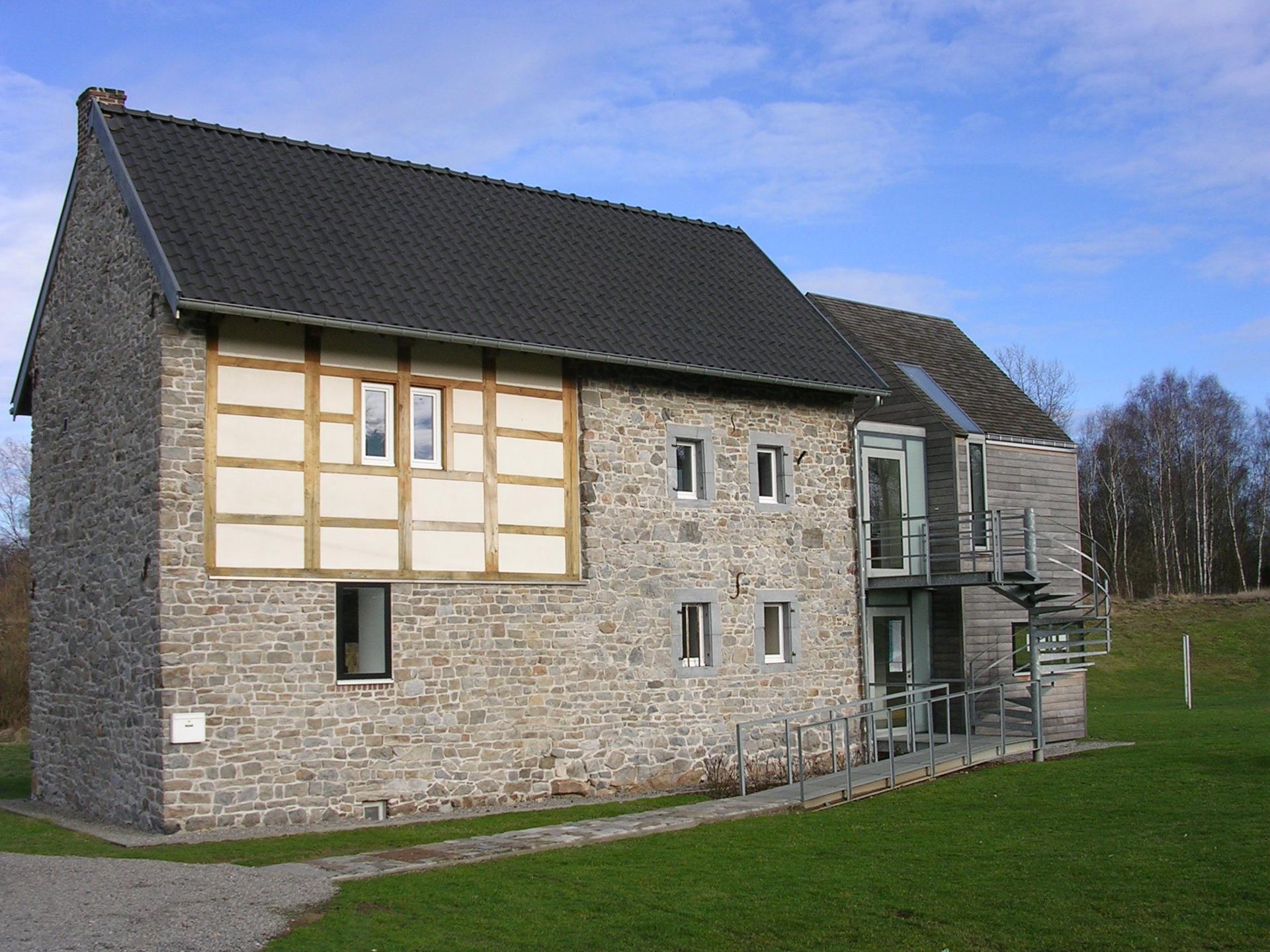 Maison du site minier à Plombières