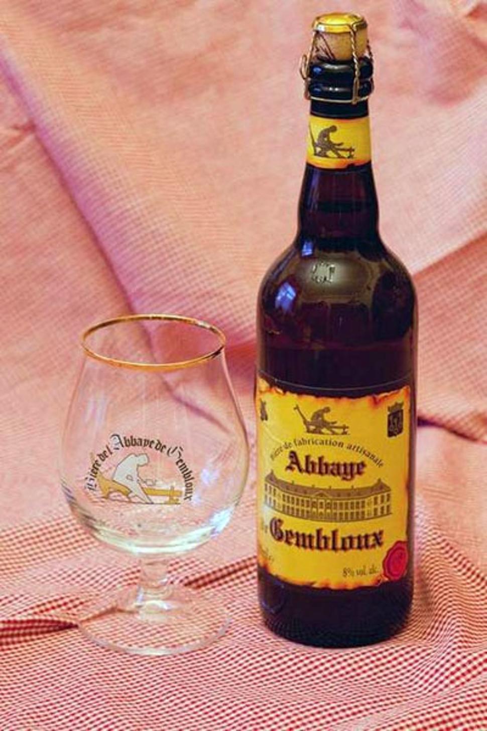 Bière abbaye gembloux