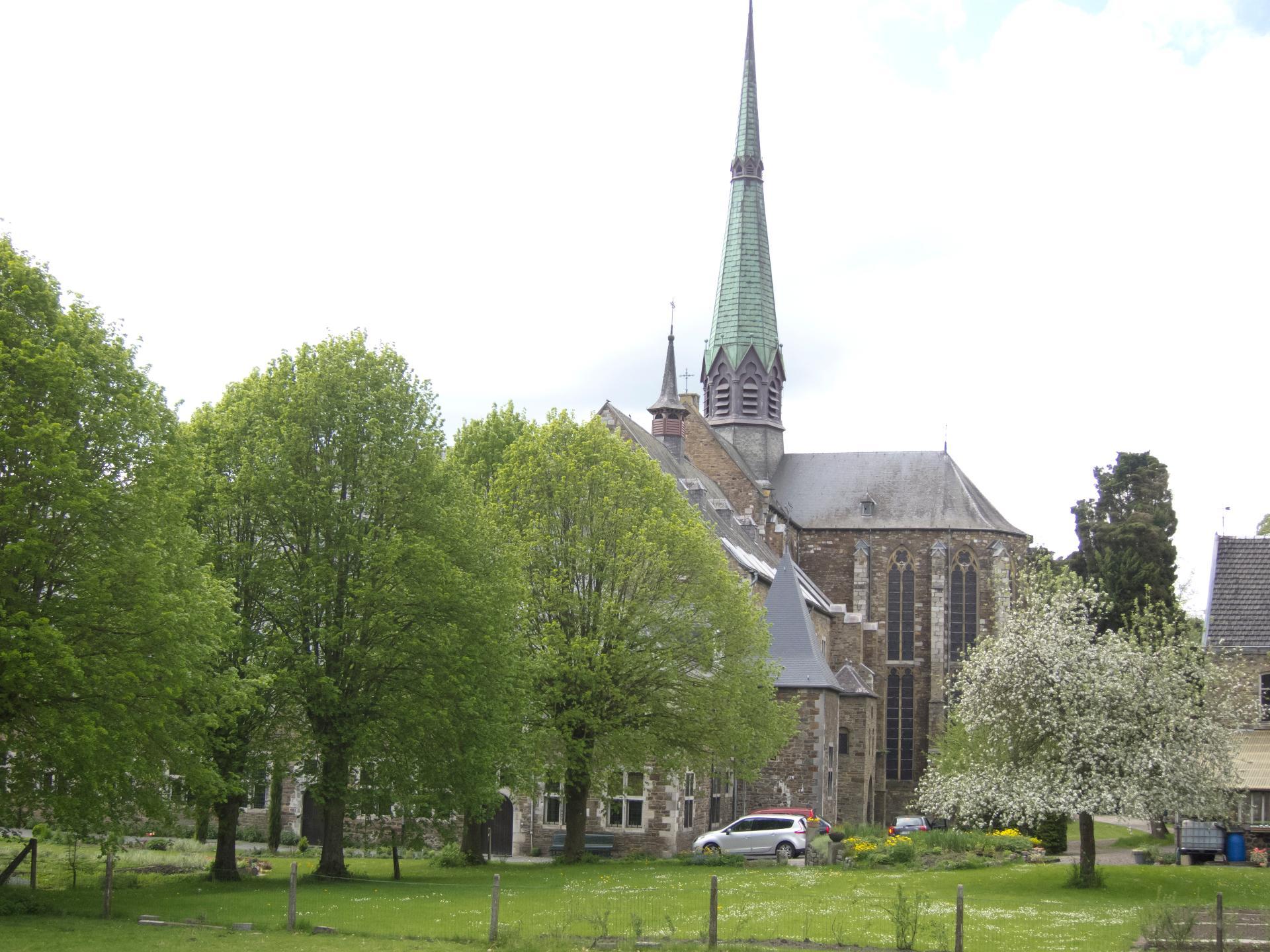 Abbaye Val Dieu - Aubel - vue extérieure