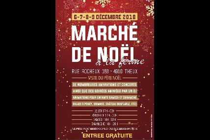 Marché de Noël de Theux à la Ferme