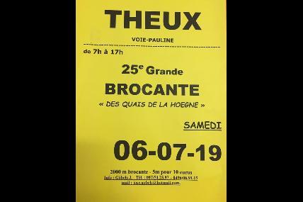 Brocante à Theux