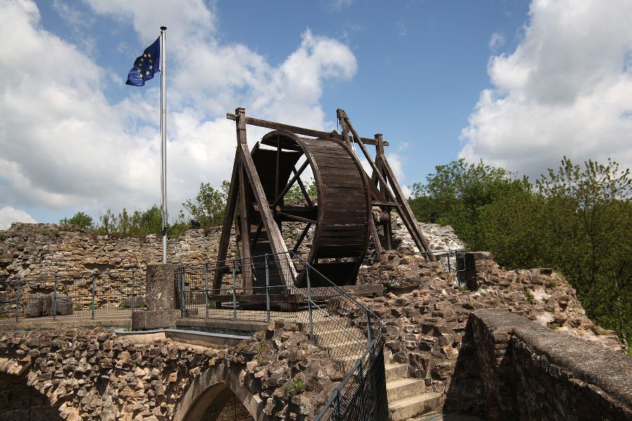 Château de Franchimont - Theux - Roue