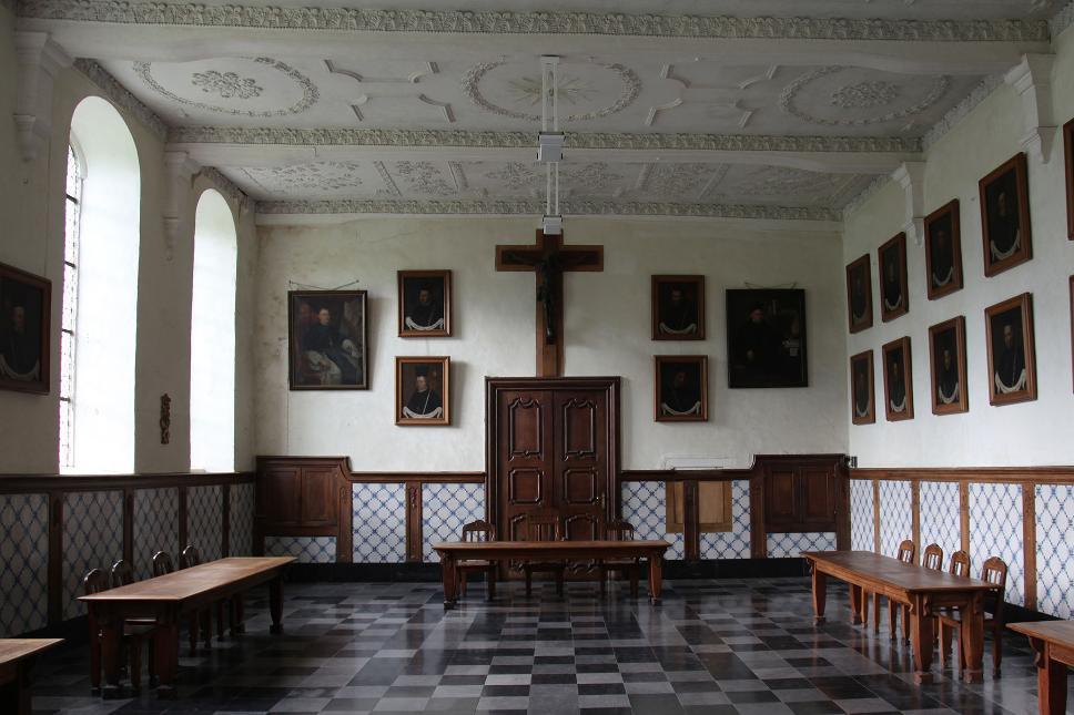 Abbaye Val Dieu - vue intérieure - Aubel