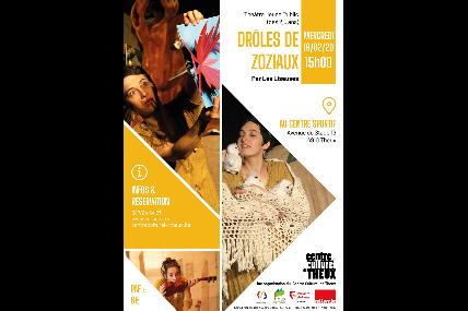 Théâtre jeune public - Drôles de Zoziaux