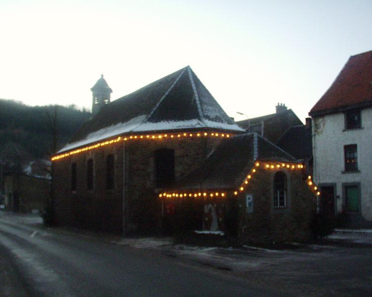 Chapelle st nicolas illuminée