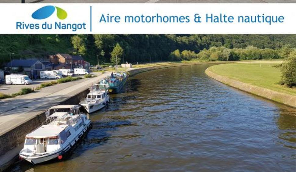 Aire camping-cars Rives du Nangot (1)