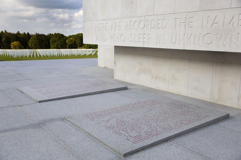 Ardennes American Cemetery Henri-Chapelle - Monument (2)